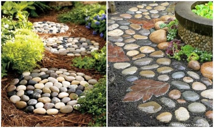 15 idei impresionante de utilizare a pietrelor pentru decorarea curtii tale